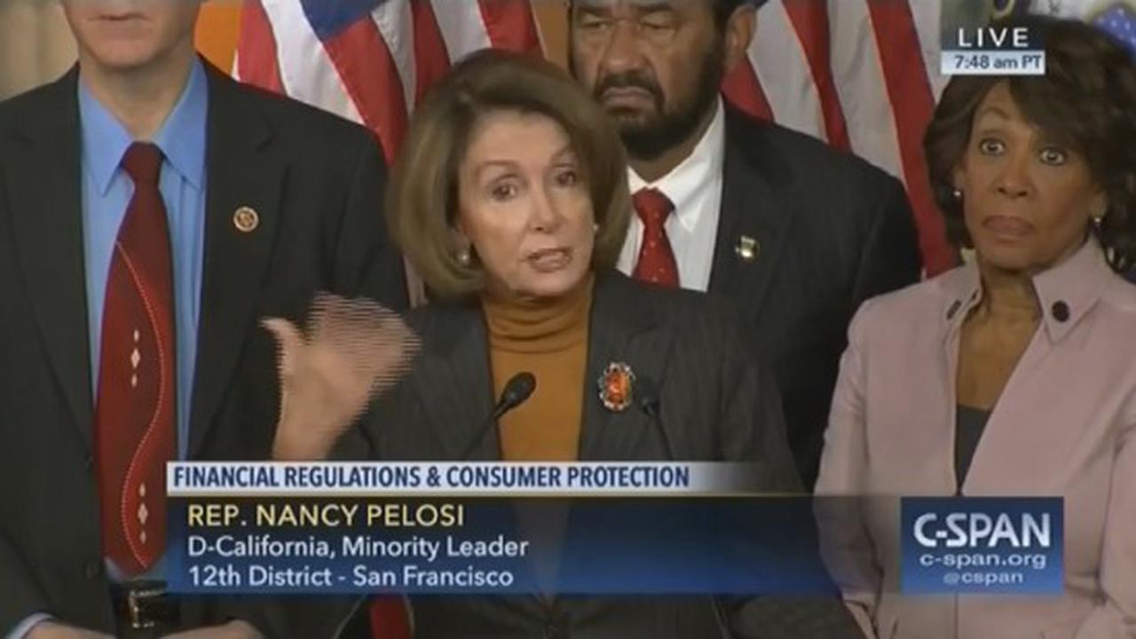 Nancy Pelosi Doesn't Know Who's President