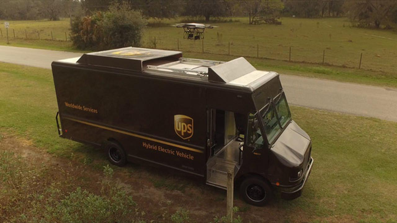 How UPS Plans To Use Drones To Increase The Speed Of Their Deliveries