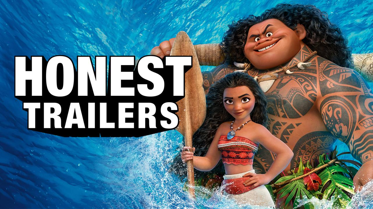 Moana - Honest Trailers