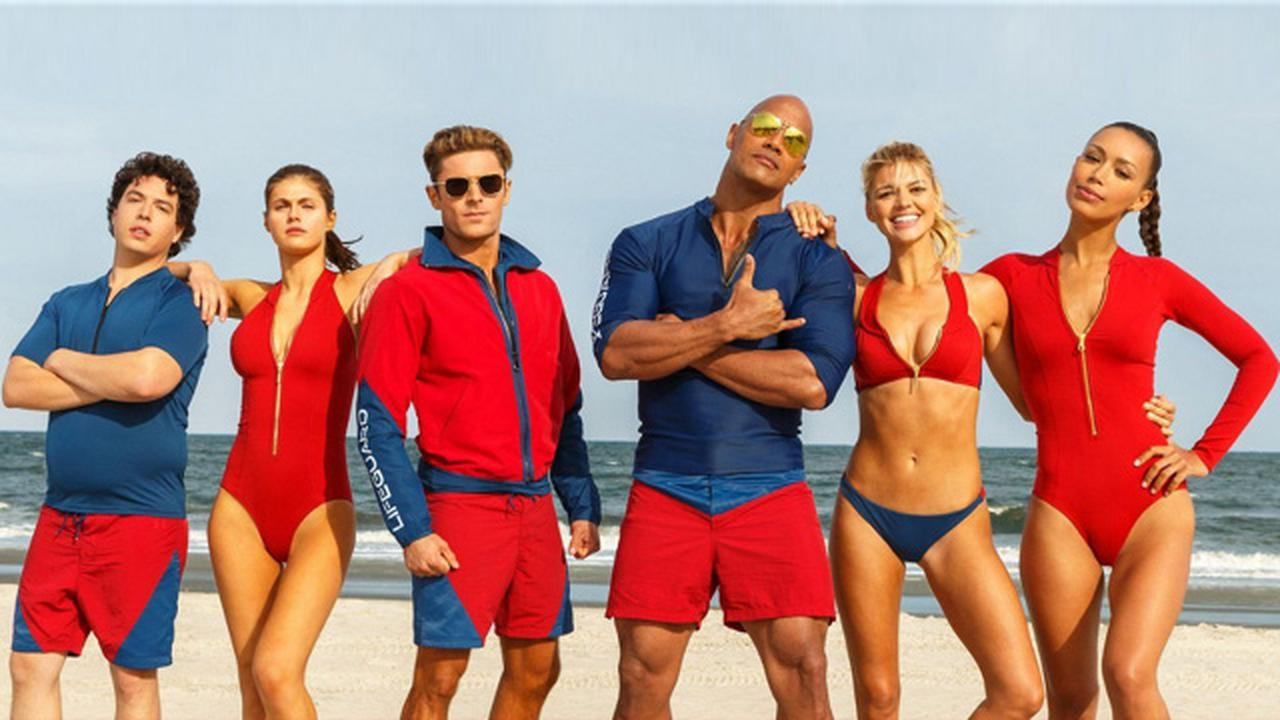 The Baywatch Trailer Features Hot Women, Explosions And The Rock