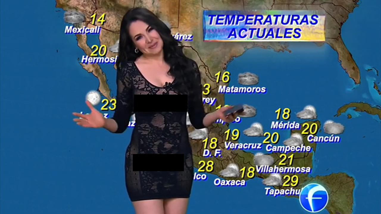 Weatherwoman Criticized For Wearing This Sheer Outfit During Live TV Broadcast