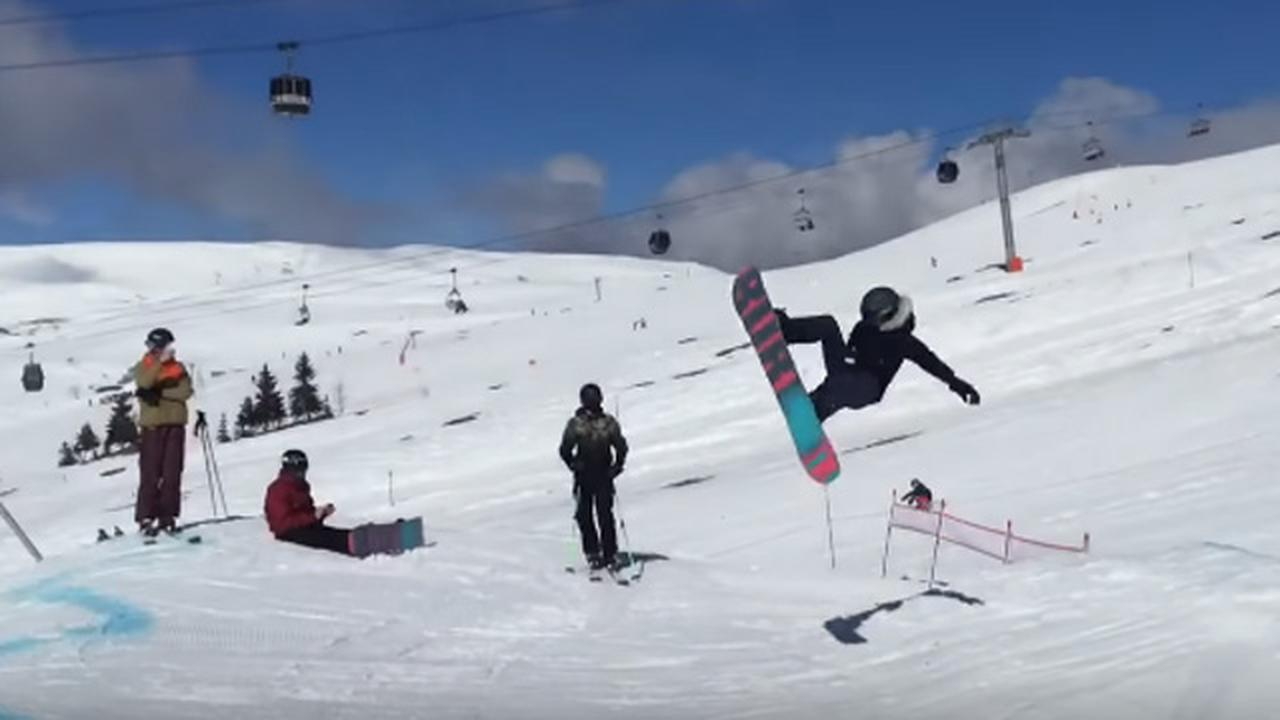 That Sickening Sound You Hear Is The Snowboarder's Femur Snapping