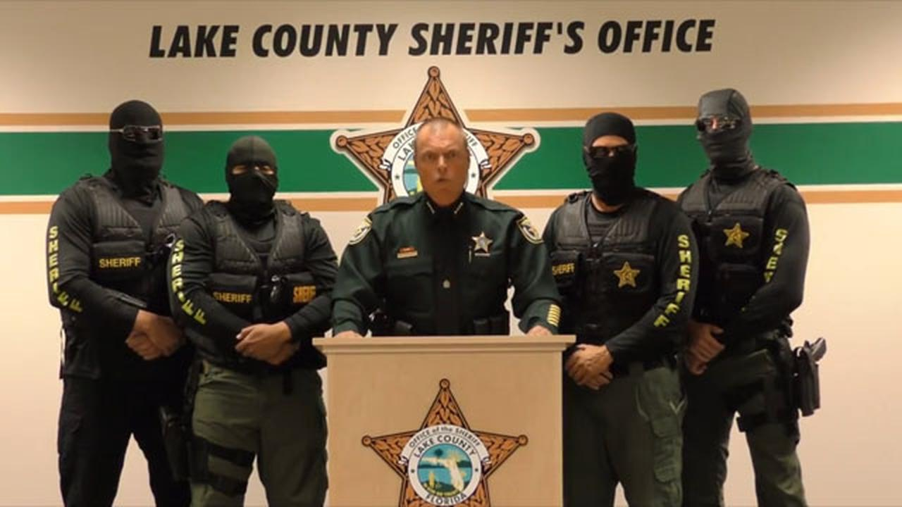 This Sheriff's Public Service Announcement Has Been Compared To ISIS Propaganda
