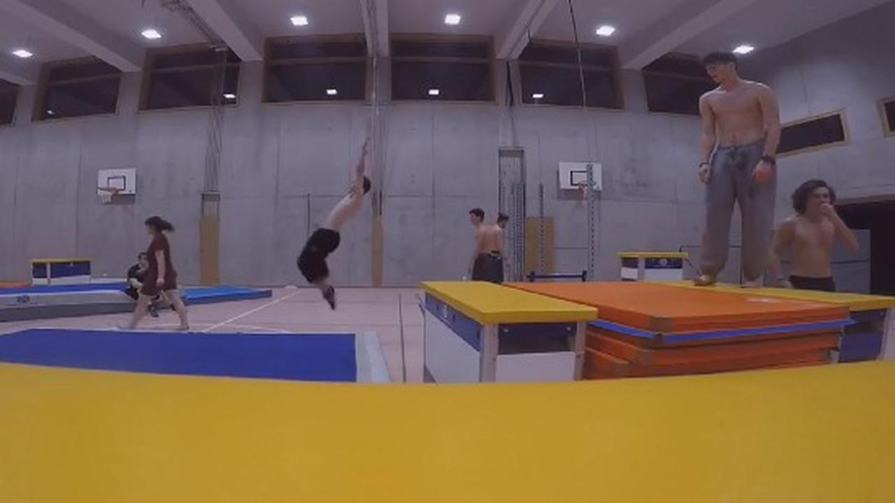 It's Not A Traditional Backflip
