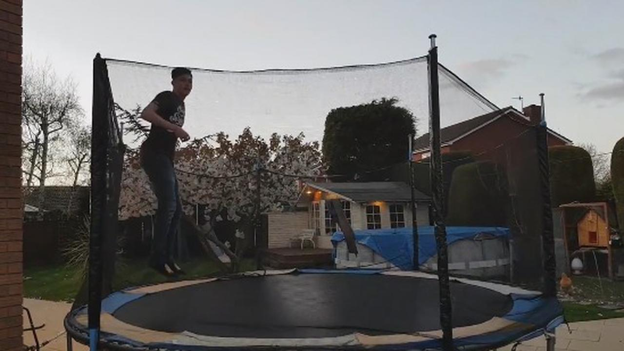 This Trampoline Thing Is Hard To Use