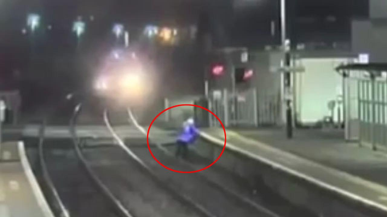 Police Release Footage Of Dimwitted Kids Playing On Train Tracks