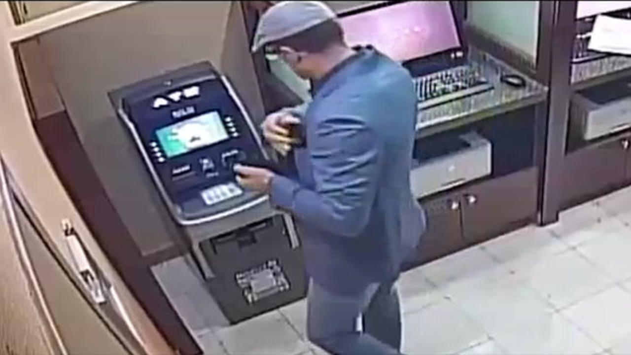Criminal Mastermind Caught Red-Handed Installing An ATM Skimmer