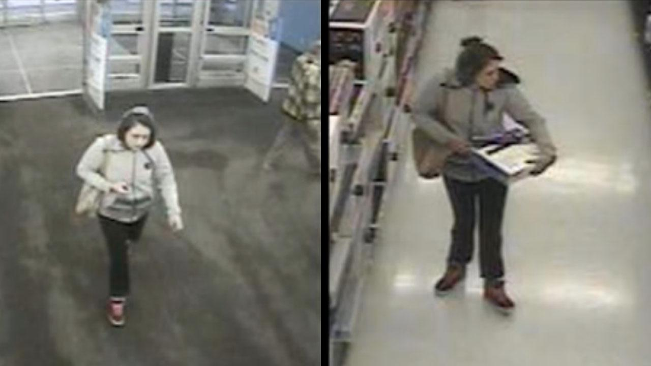 Brazen Woman Walks Into Walmart And Calmly Steals A Blu-ray Player