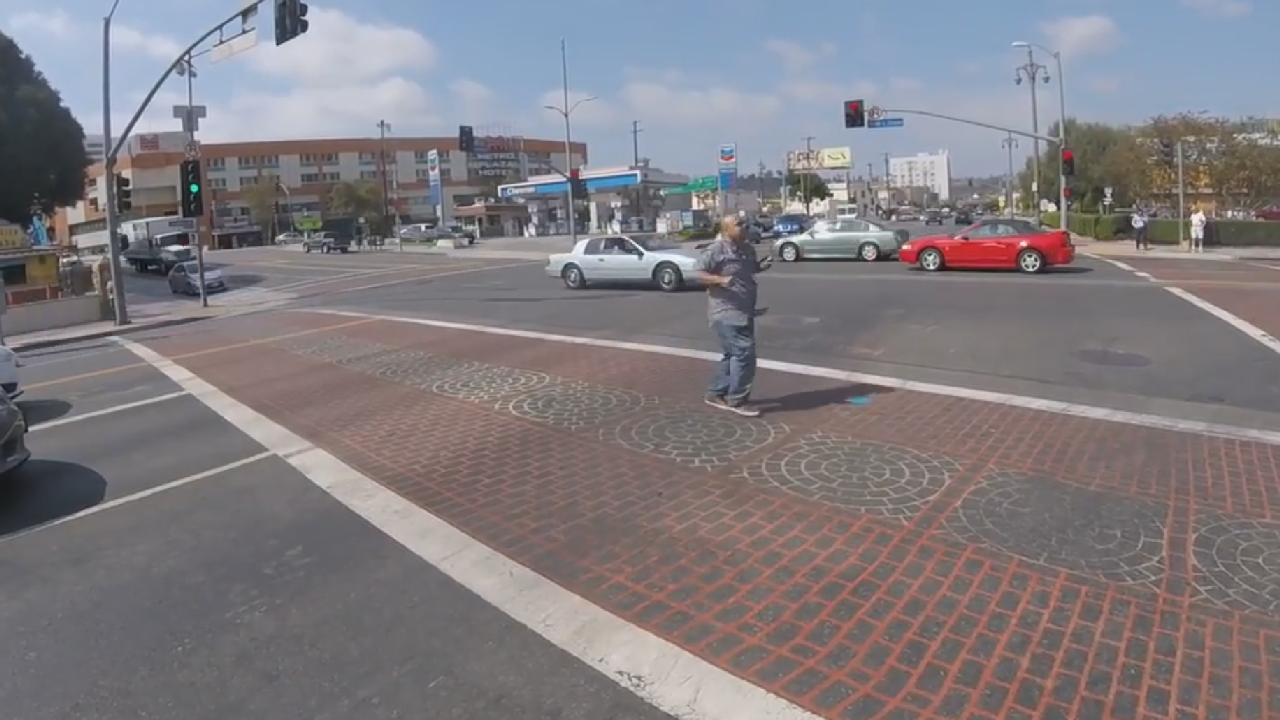 The Funkiest Crosswalk In Town