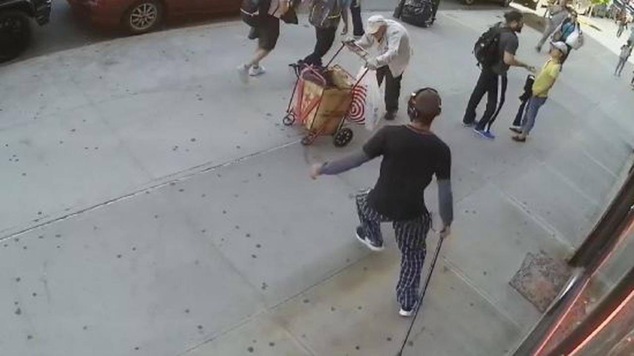 Jackass Attacks A 90 Year Old Man For No Reason