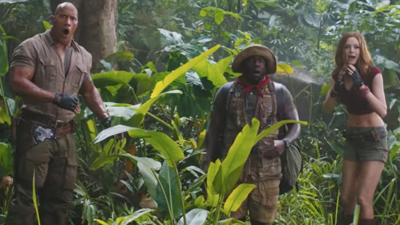 Do You Think The New Jumanji Movie Looks Funny Or Really, Really Lame?