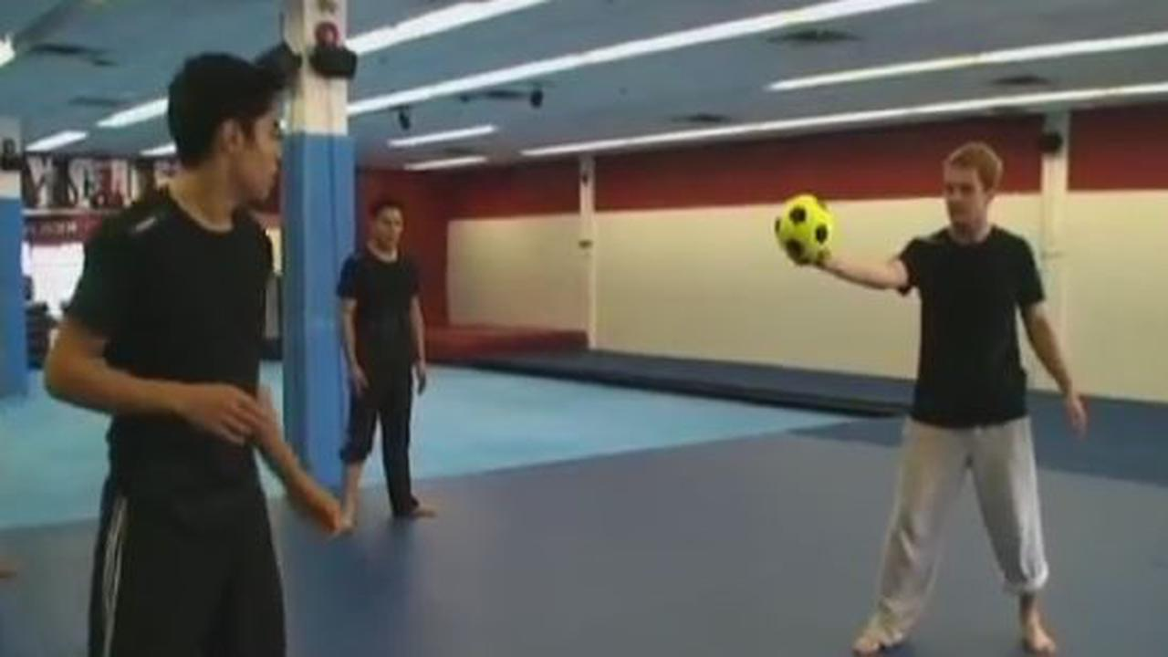 The bruce lee school of soccer