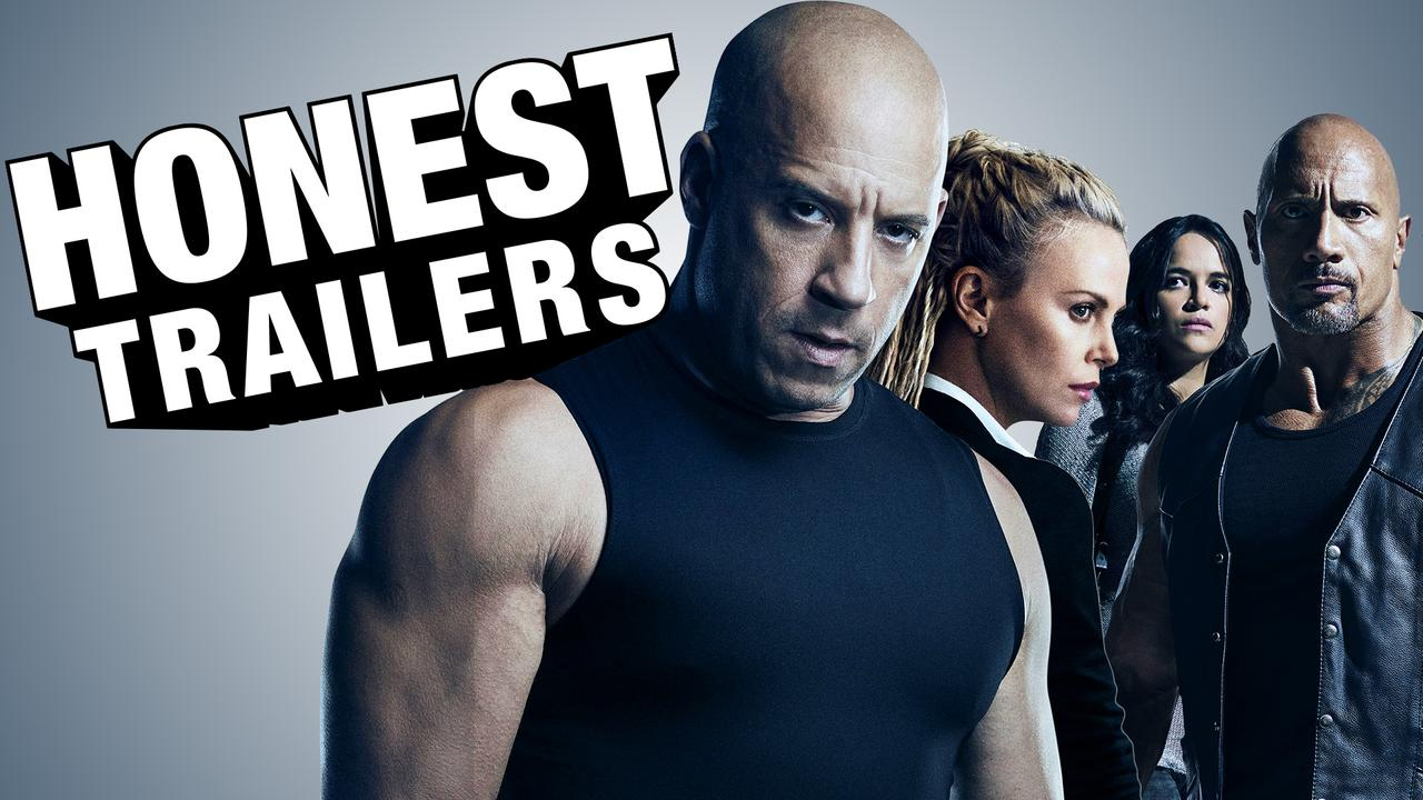 Fate of the furious - honest trailers