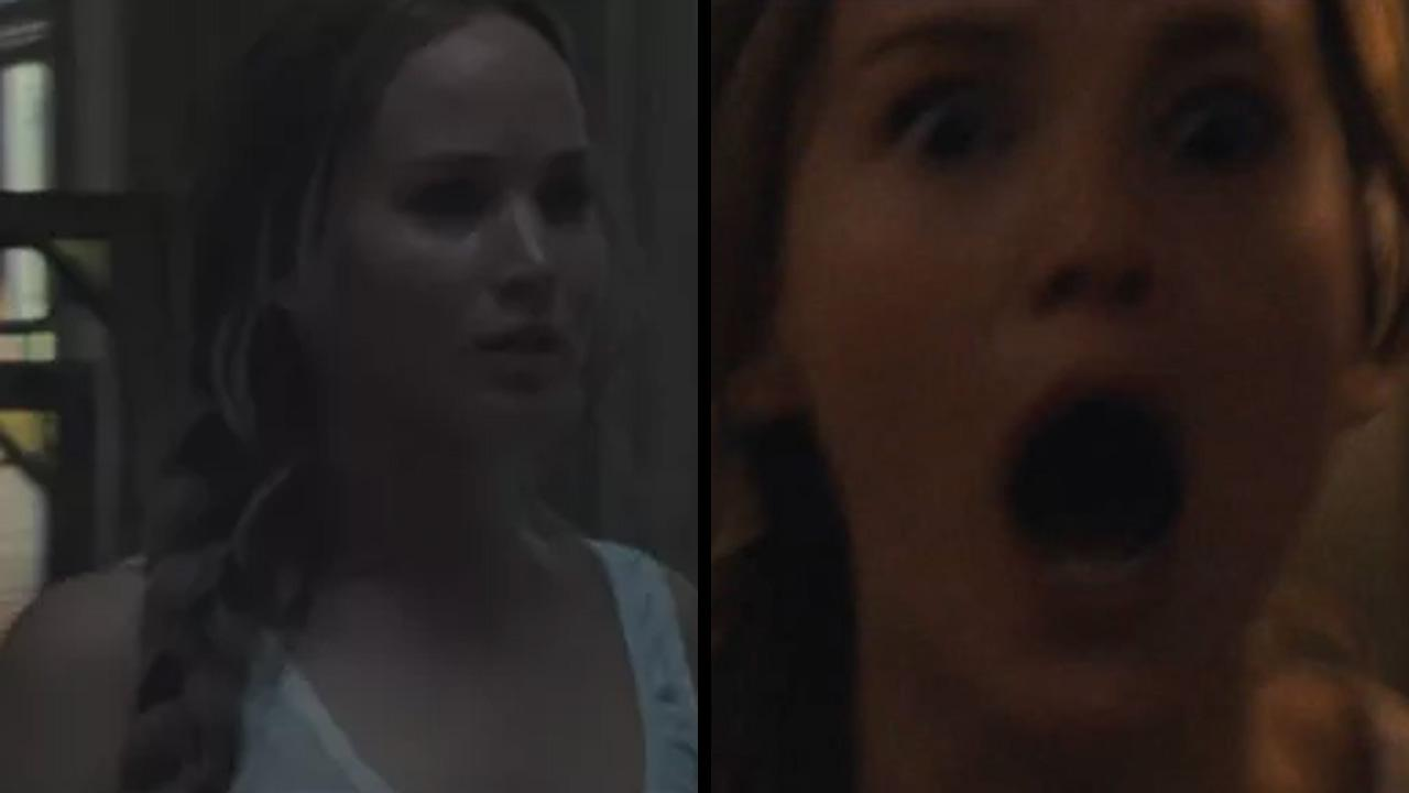 Jennifer Lawrence Looks Terrified