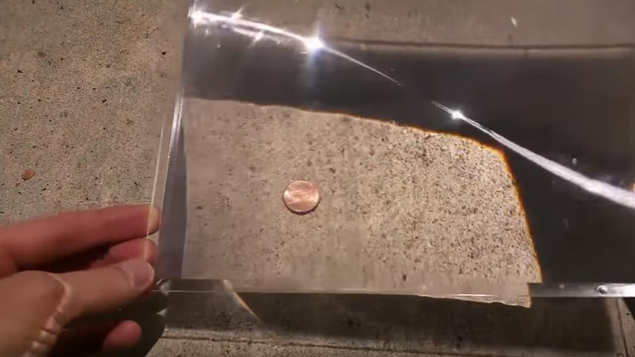 Do You Think This Guy Can Melt A Penny Using The Sun?