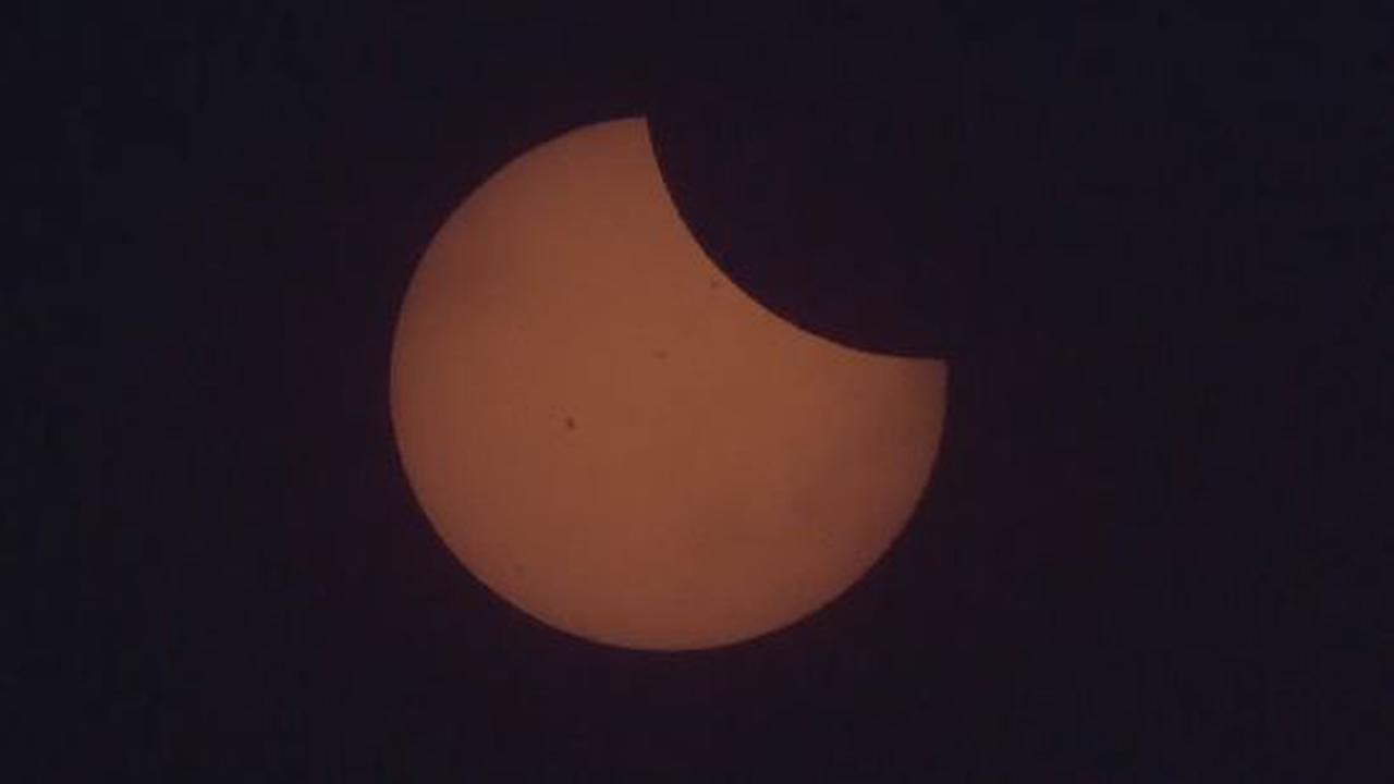 The Space Station Photobombed The Eclipse