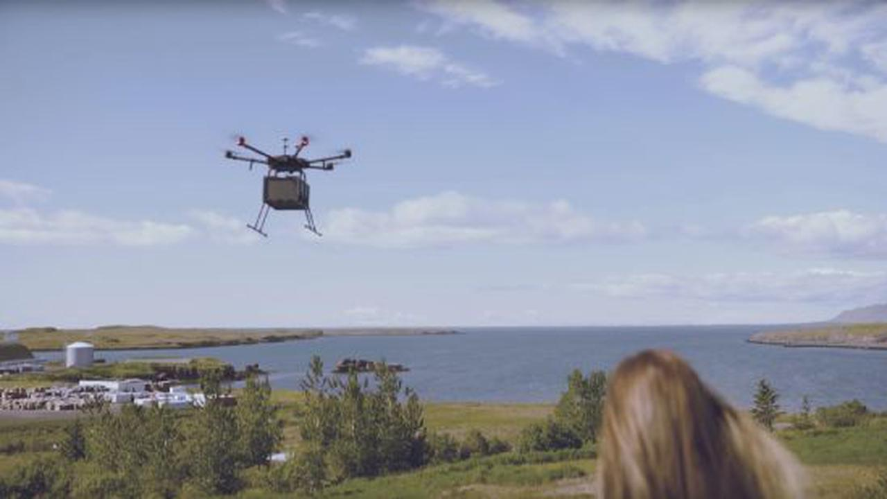 Delivery Drivers Are Going To Become Delivery Pilots In Iceland