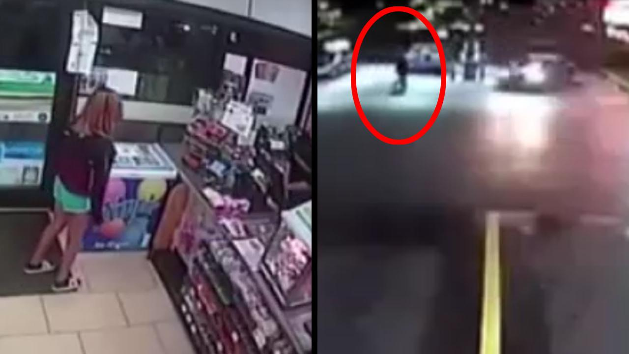 Four Thieves Steal From Store And Then Try To Run Over Worker In P_...