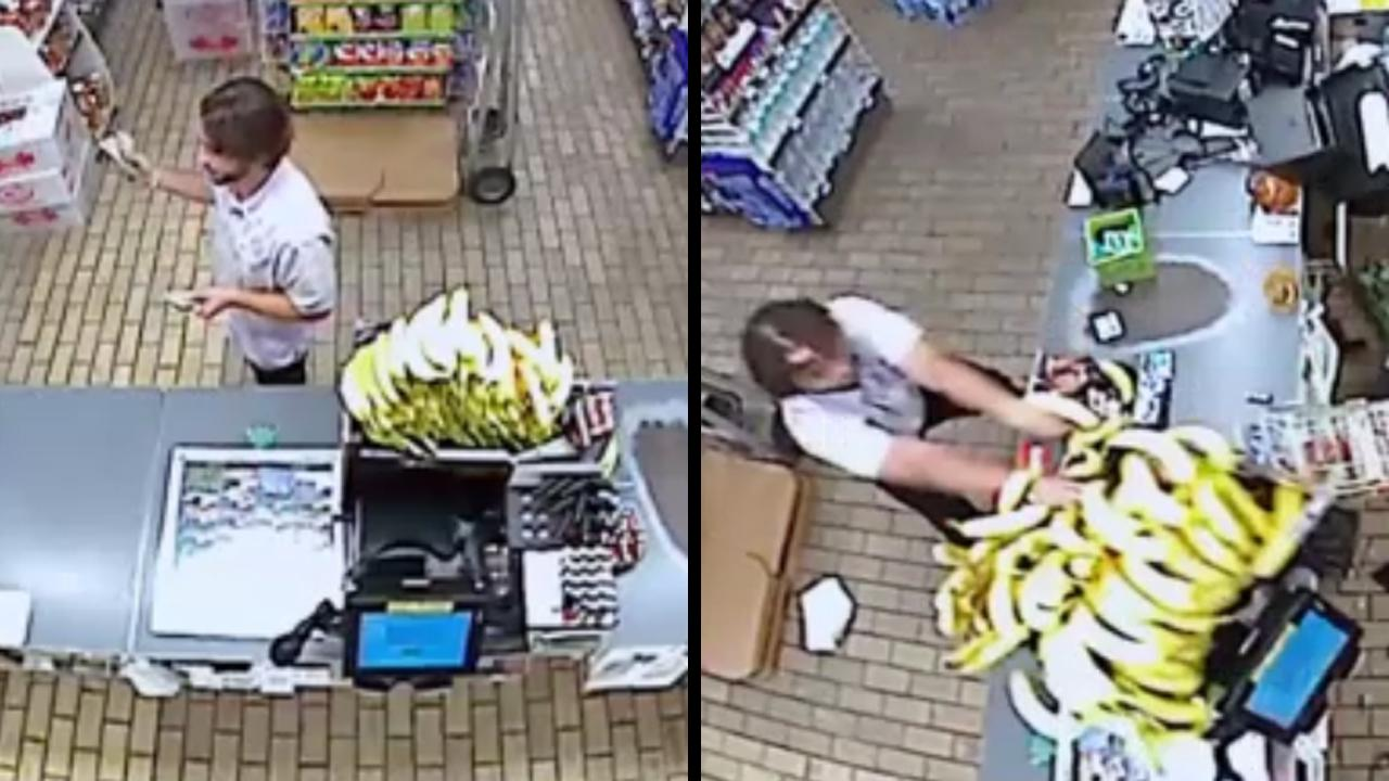 After Being Denied Beer, Customer Takes Anger Out On Bananas And W_...