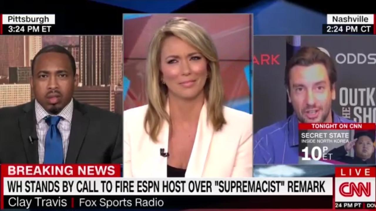 Cnn Host Ends Interview After Guest Says He Believes In First Amen_...