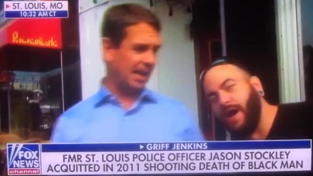 Fox News Reporter In St. Louis Gets Videobombed By Fhritp Prankster