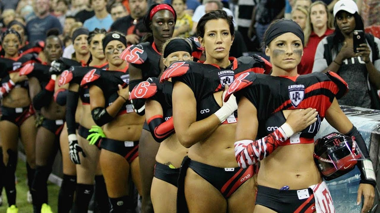Tired Of The Nfl Kneeling? The Lingerie Football League Vows To St_...