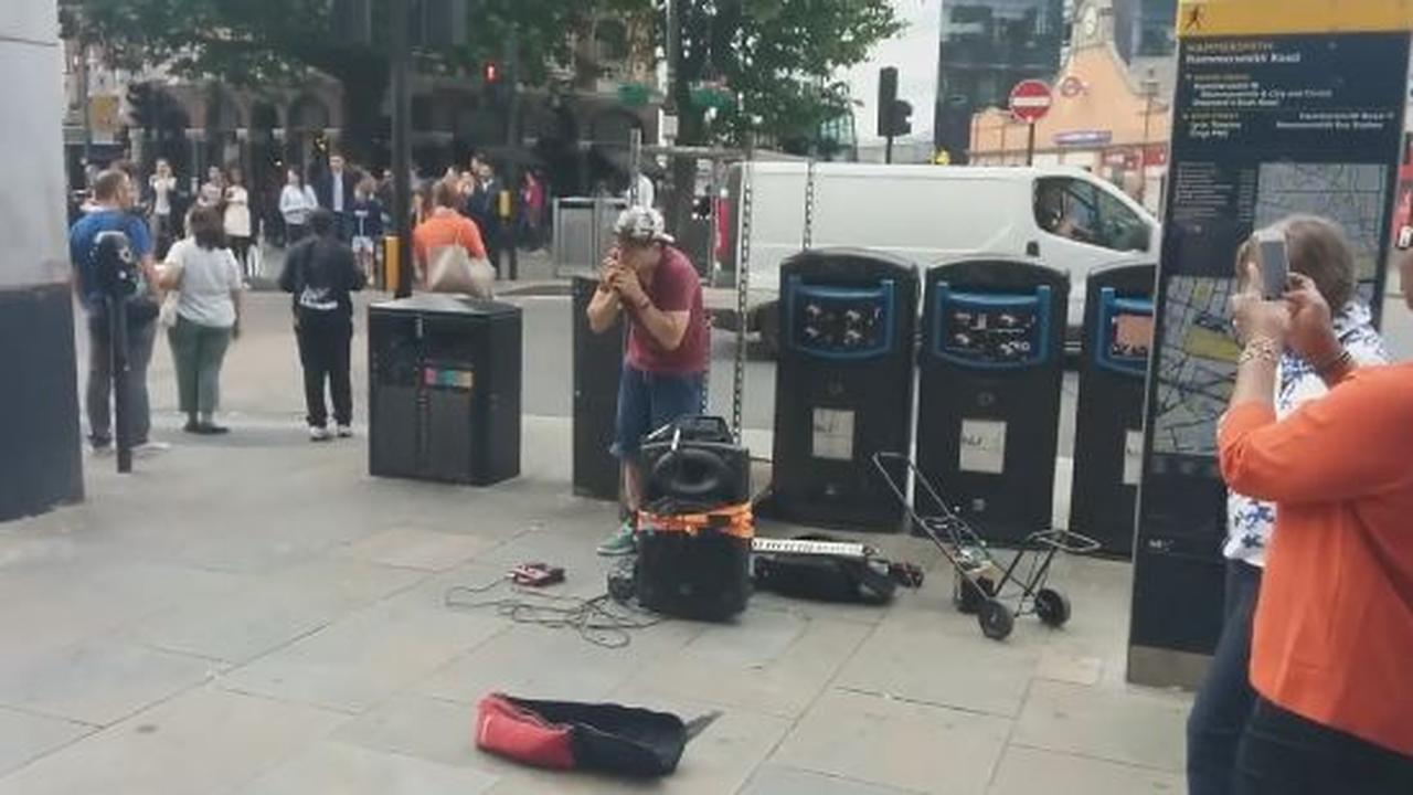 The Best Harmonica Player You'Ll Ever See