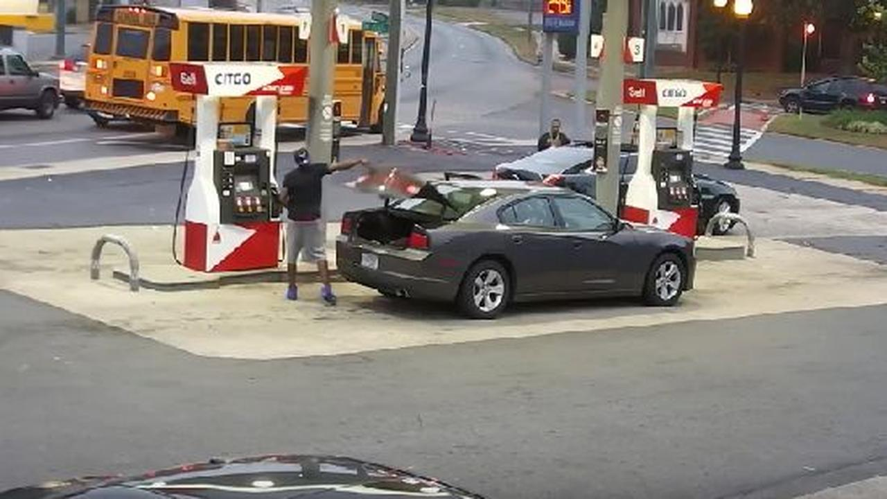 Just An Afternoon Shootout At The Gas Station
