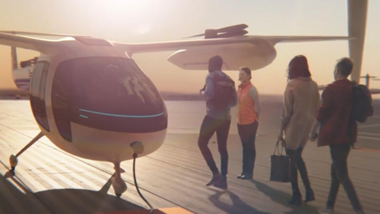 Uber Unveils Flying Taxis Of The Future And It'S As Badass As You'_...