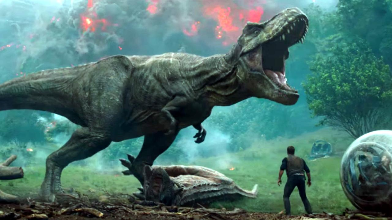 """Here's The """"Jurassic World: Fallen Kingdom"""" Trailer We've All Been Waiting For"""
