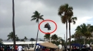 Shocking Moment Waterspout Comes Ashore And Sucks Bounce House Into The Air