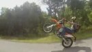 Wheelie Win Turns Into Crash And Fail!