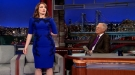 Tina Fey Takes Off Dress, Gives It To David Letterman As A Going Away Present