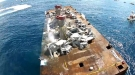 Massive Fail As Artificial Reef In Florida Flips Upside Down