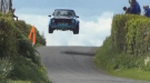 That's One High Flying Rally Car