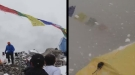 Shocking Moment Deadly Avalanche Buries Mount Everest Basecamp