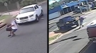 Shocking Moments Students Get Hit By Vehicle After Getting Off School Bus
