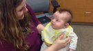 Emotional Moment Baby Hears His Mother For The First Time In His Life