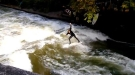 Surfing The Eisbach In Germany