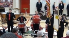 Busted Cymbal Turns This Into The Most Patriotic Band Performance Ever