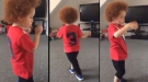 Little Man Busting Some Moves
