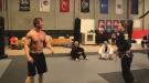 Smart Ass Body Builder Gets Destroyed By Female Jiu Jitsu Student