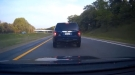 Tailgater Gets Brake Checked Right Off The Road