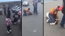 Super Mom Beats A Stranger While Her Kids Beg Her To Stop