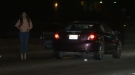 Drunk Woman Stalls On Freeway, Urinates On Ground And Then Sits In Traffic