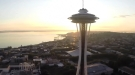Buzzing The Space Needle In Seattle