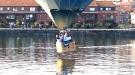 Hot Air Balloon Makes Water Landing