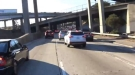 Lane Splitting Through Los Angeles