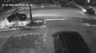 Hit And Run Caught On Security Cam