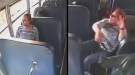 Woah! Jarring Moment School Bus Is T-Boned By Semi Truck